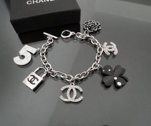 chanel, bracelet, and jewelry image