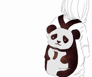 panda, anime, and manga image