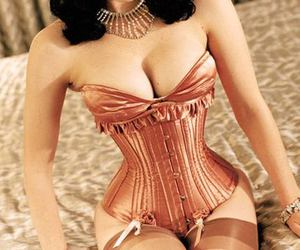 boobs, corset, and curves image