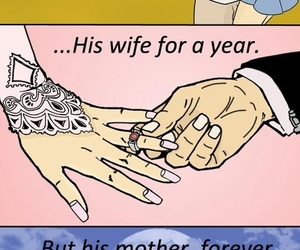 love, forever, and wife image