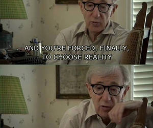 reality and woody allen image