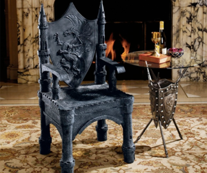 furniture, gothic, and home image