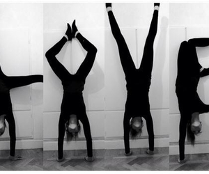 love and handstand image