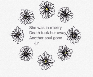 broken, flowers, and quotes image
