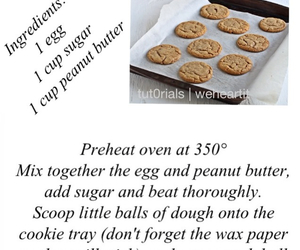 Cookies, peanut butter, and tutorial image