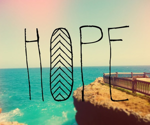 hope, beach, and summer image