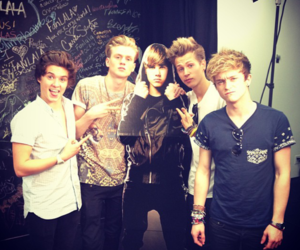 the vamps, justin bieber, and james mcvey image