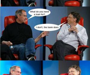 funny, lol, and Steve Jobs image