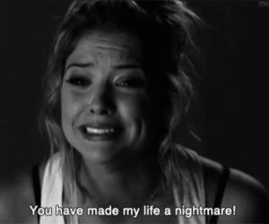 pretty little liars, nightmare, and pll image