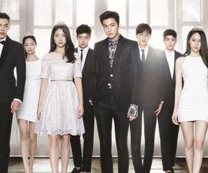 the heirs, lee min ho, and park shin hye image