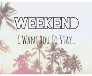 please, stay, and weekend image