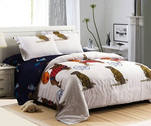 bedding, white, and lovely image