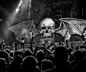 avenged sevenfold, a7x, and concert image