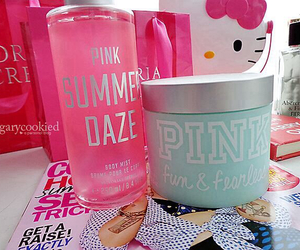 pink, summer, and Victoria's Secret image