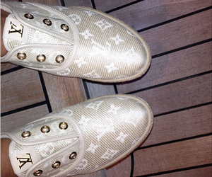 beautiful, Louis Vuitton, and slippers image