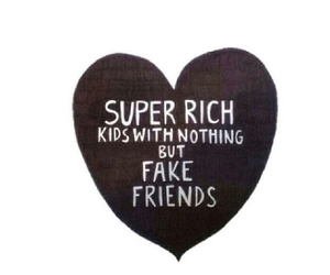 friends, fake, and kids image