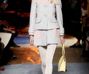 catwalk, model, and chic outfit image