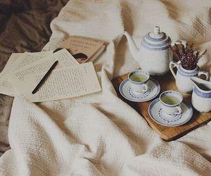 tea, vintage, and book image