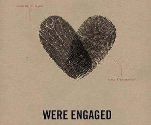 engaged, wedding, and heart image