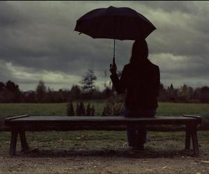 umbrella and sad image