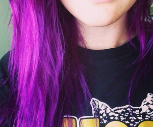 colored hair, hair color, and hair color crazy image
