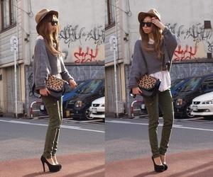 fashion, girl, and lookbook image