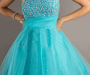 dress, party, and paillette image