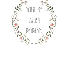 love, daydream, and quote image
