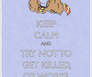 harry potter, keep calm, and hermione granger image