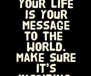 life, quotes, and message image