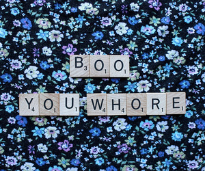 boo, whore, and mean girls image