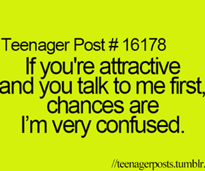 confused and teenager post image