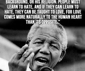 nelson mandela and quote image