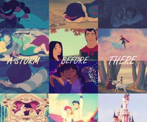 disney, princess, and rainbow image
