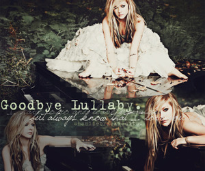 Avril Lavigne, pretty, and goodbye lullaby image