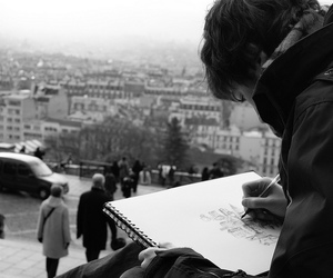 art, city, and draw image