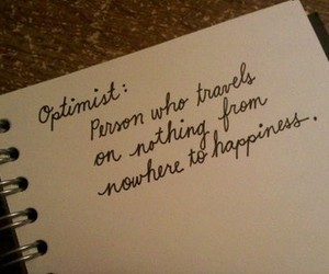 optimist, happiness, and text image