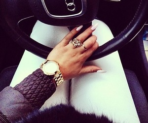 car, audi, and nails image