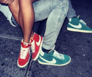 boy, nike, and couple image