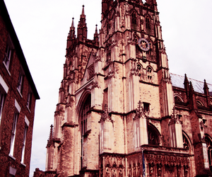 britain, canterbury, and cathedral image