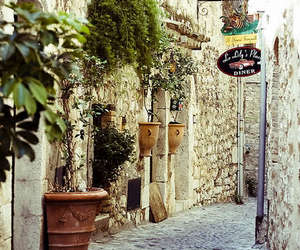 provence, street, and france image