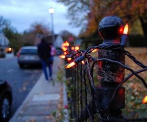 christmas, lights, and street image