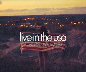 usa, america, and live image