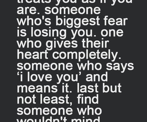love, quotes, and someone image