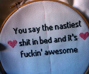 awesome, embroidery, and sex image