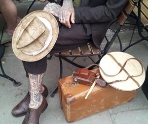 tattoo and gentleman image