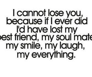 quote, best friends, and everything image