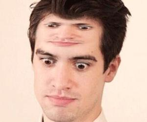 brendon urie, forehead, and funny image