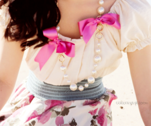 fashion, pink, and demi lovato image