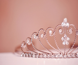 princess, tiara, and diamonds image
